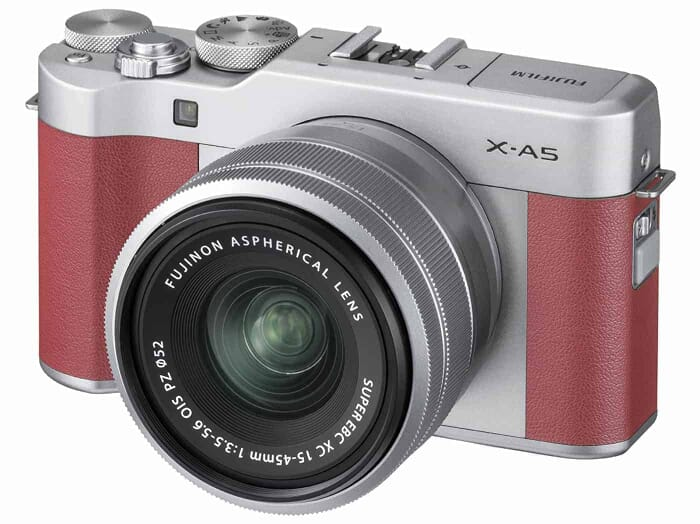 "Affordable and classy mirrorless camera: the Fujifilm X-A5 Mirrorless Camera XC15-45mm Lens Kit - with 3.0"" LCD"