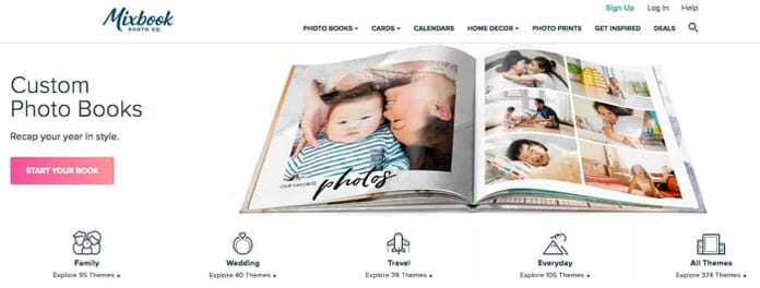 Our Pick: Make Your Own Custom Photo Books with Mixbook.com