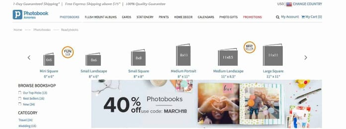 Photobook America - one of the top photo book creation websites