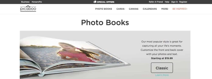 Picaboo.com Photo Book Printers