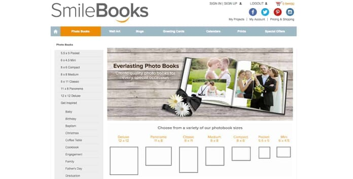 SmileBooks Quality Photo Books for Every Occastion