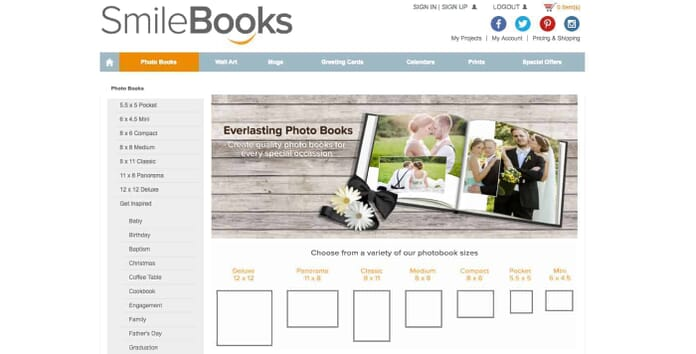 SmileBooks Quality Photo Books for Every Occastion