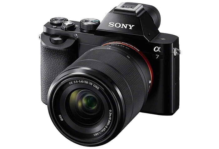 Just Under $1,000: The Sony a7 Full-Frame Mirrorless Digital Camera with 28-70mm Lens