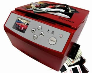 Another graet Slide Scanner: theWolverine SNAP20 20 Megapixels 35mm Slides Negatives and Photo to Digital Image Converter, Red