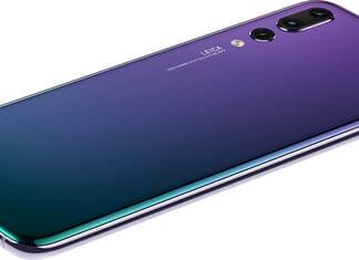 Huawei P20 Pro Back View