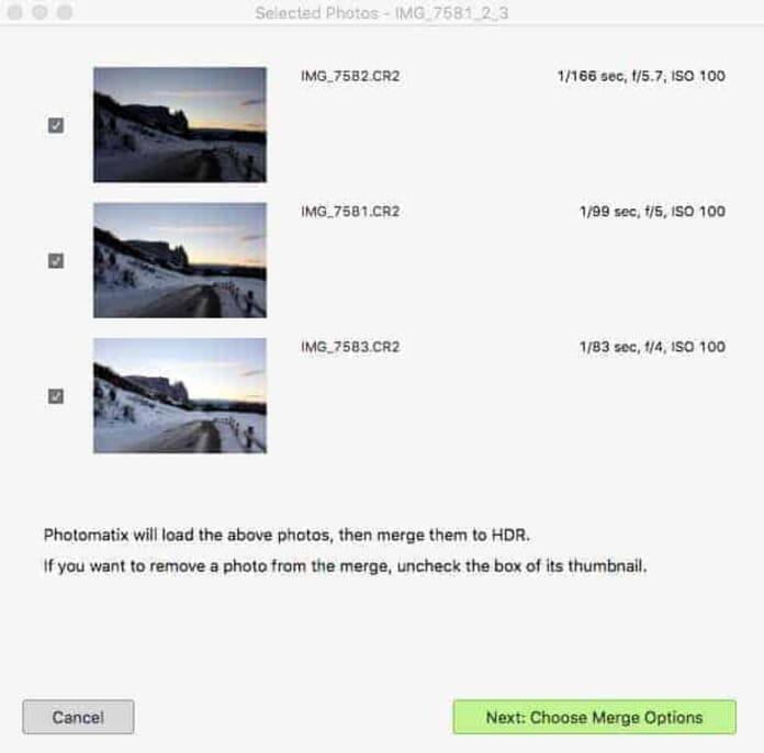 Screenshot: Review of Photomatix Pro 6 using a Mac Pro.