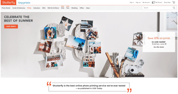 Shutterlfy.com - Best Place to Print Photos Online