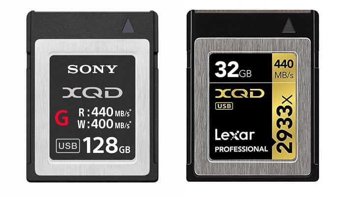 XQD storage solutions