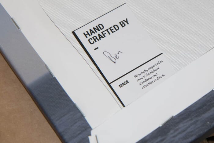 Quality Inspection Signature by CanvasPop