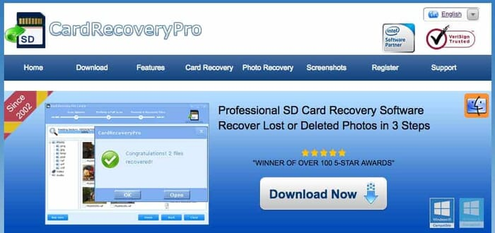 Card Recovery Pro is an Easy Way to Recover your Lost Photos from an SD Card