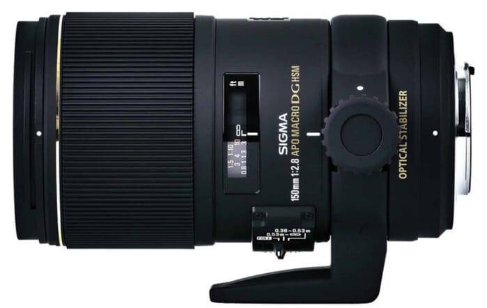 Sigma 150mm F2.8 EX DG OS HSM APO Macro Lens for Nikon DSLR Cameras
