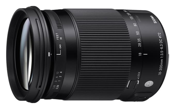 Sigma 18-300mm F3.5-6.3 Contemporary DC Macro OS HSM Lens for Nikon