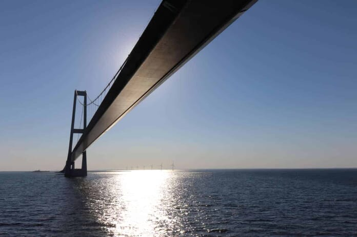 Oresund Bridge Connecting Denmark and Sweden Our Source Image for our CanvasPop Review