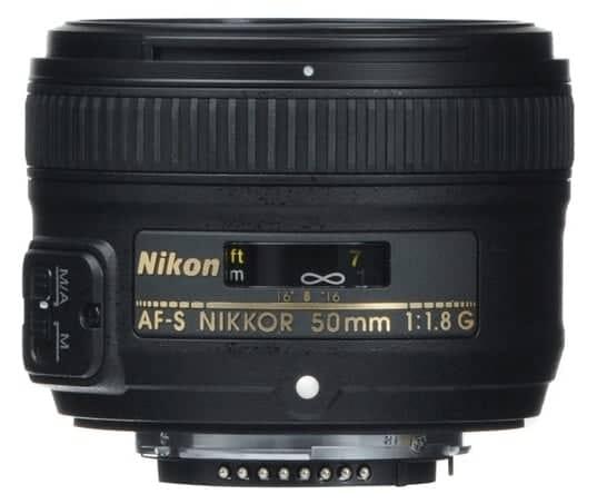 AF-S 50mm f/1.8 G