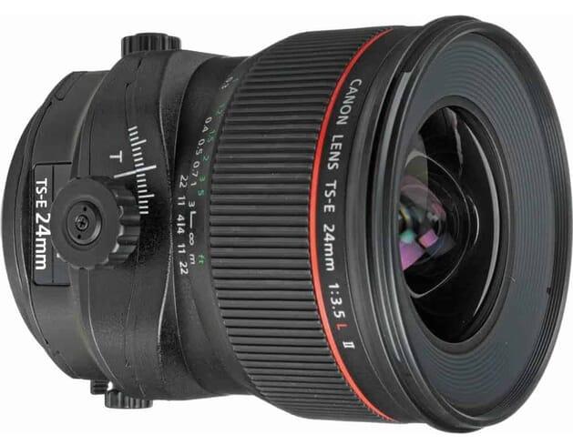 Canon TS-E 24mm f3.5L II Tilt-Shift Lens