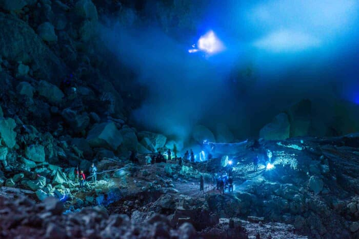 Mount Ijen Blue Fire