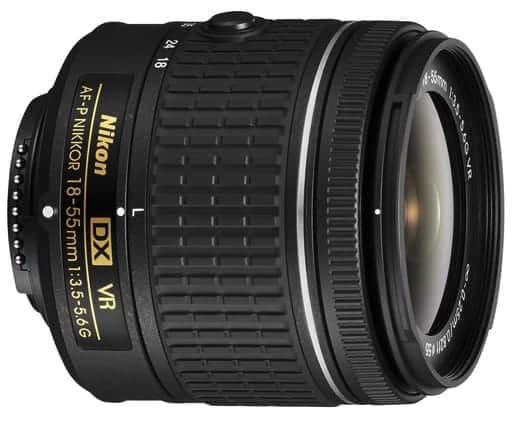 Nikon AF-P DX Nikkor 18-55mm f/3.5 – 5.6 G VR