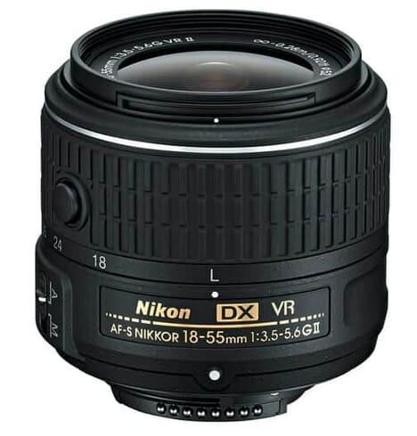 Nikon AF-S DX Nikkor 18-55mm f/3.5 – 5.6G VR II