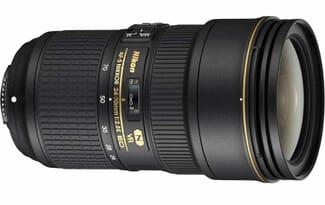 Nikon AF-S NIKKOR 24-70mm f2.8E ED VR Lens