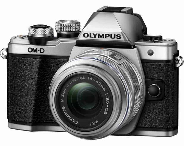 Olympus OM-D E-M10 Mark II Mirrorless Micro Four Thirds Digital Camera