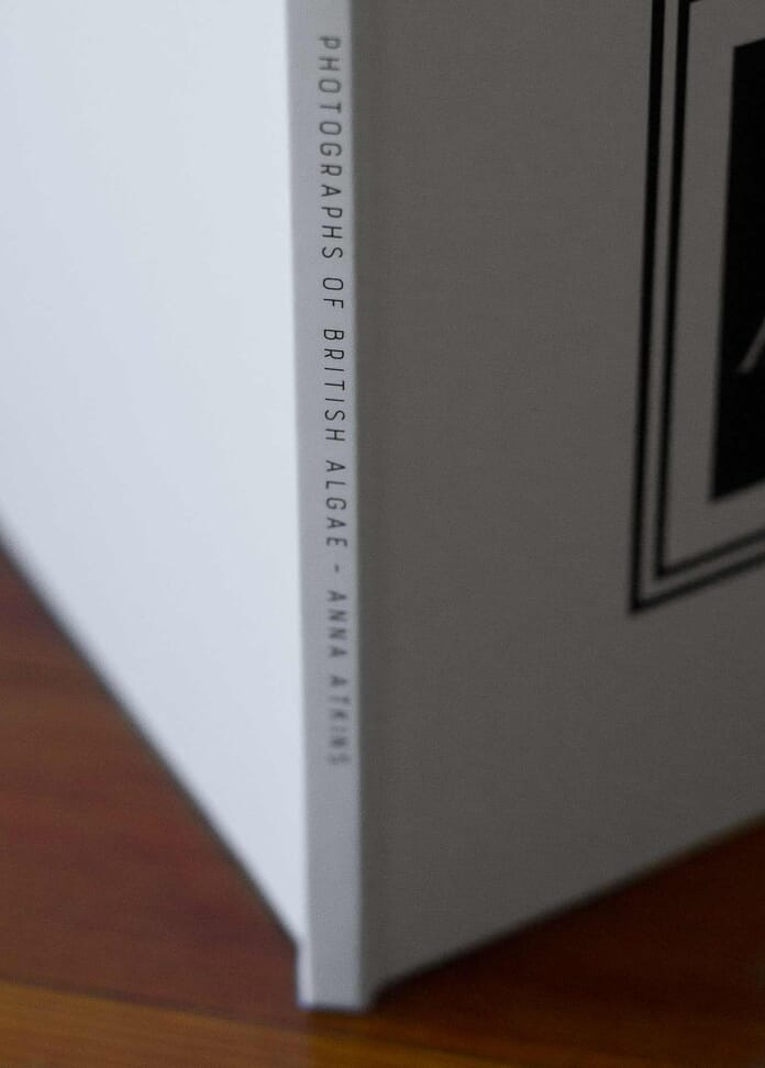 photo book spine