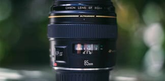 Best Canon Lenses for Beginners (85mm f1.8 Canon EF Lens)
