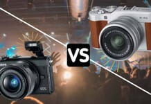Canon EOS M100 Mirrorless vs. Fujifilm X-A5 Mirrorless Camera
