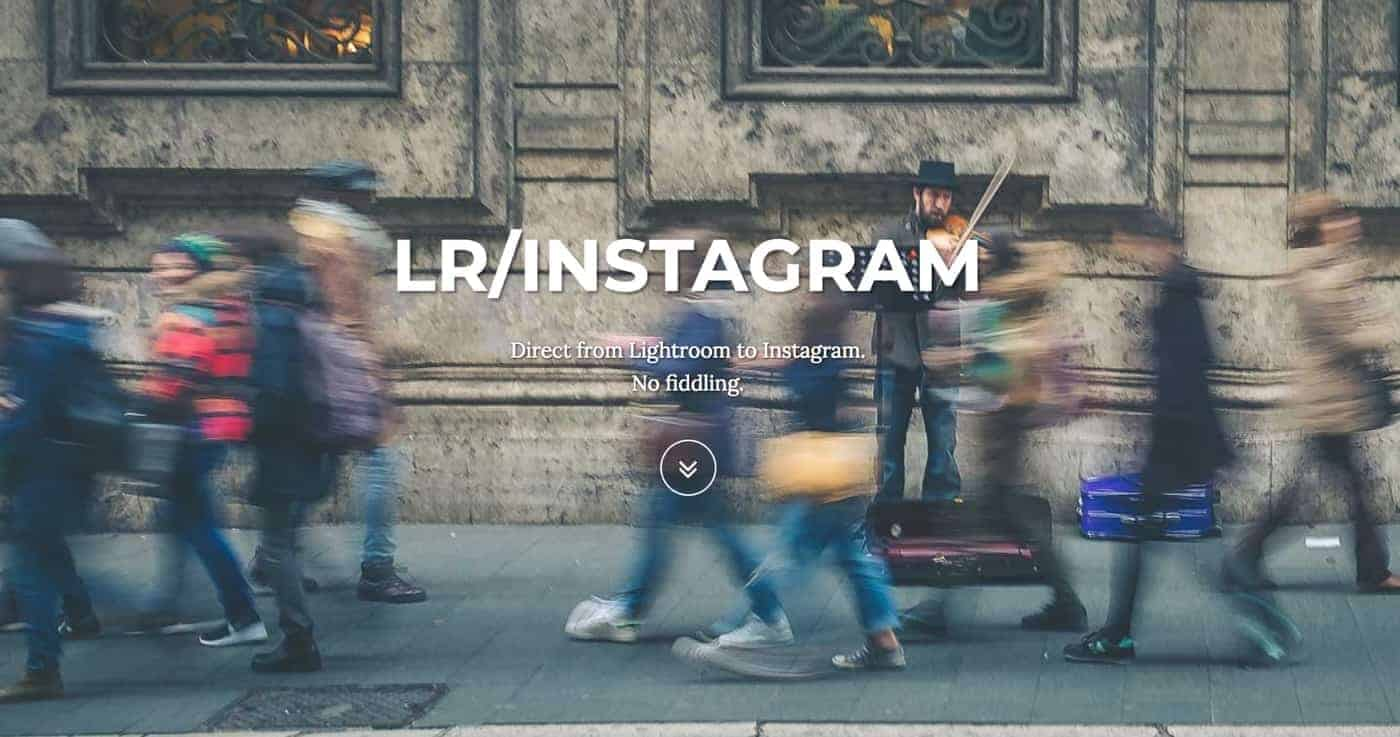 LR:Instagram Post Images from Lightroom directly to Instagram