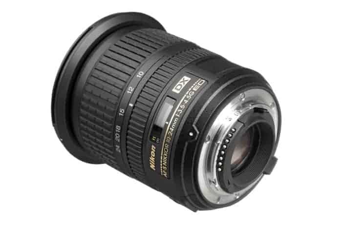 Nikon 10-24mm f/3.5-4.5 G DX AF-S ED Zoom-Nikkor Lens