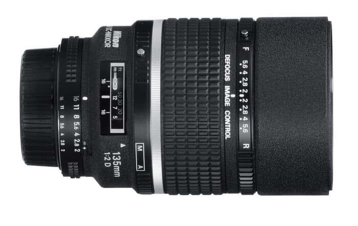 Nikon AF FX DC-NIKKOR 135mm f/2
