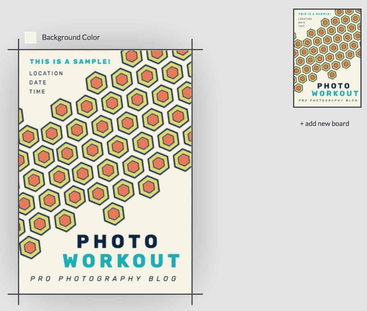 DesignWizard Graphic Design Sample