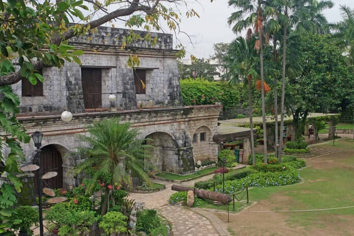 Grounds inside Fort San Pedro in Cebu City, Philippines