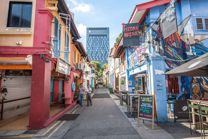 Haji Lane Singapore. Another great sport for traveling photographers.