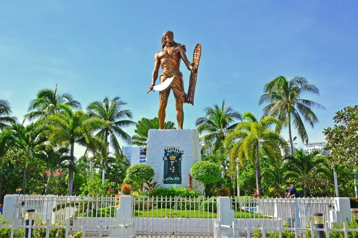 The Lapu Lapu Shrine Cebu Philippines