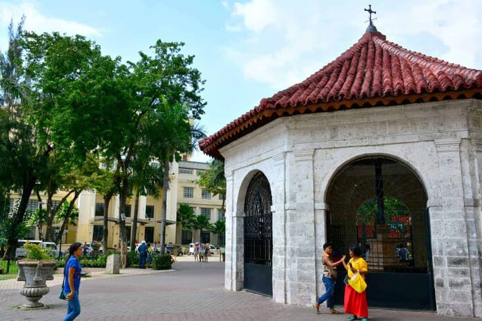 Magellan's Cross - another sight to photograph when in Cebu City in the Philippines