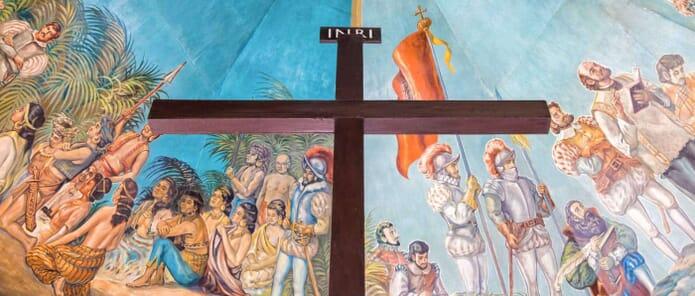 Magellan's Cross In Cebu City