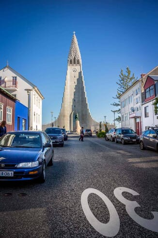 What to photograph in Iceland - Hallgrímskirkja church