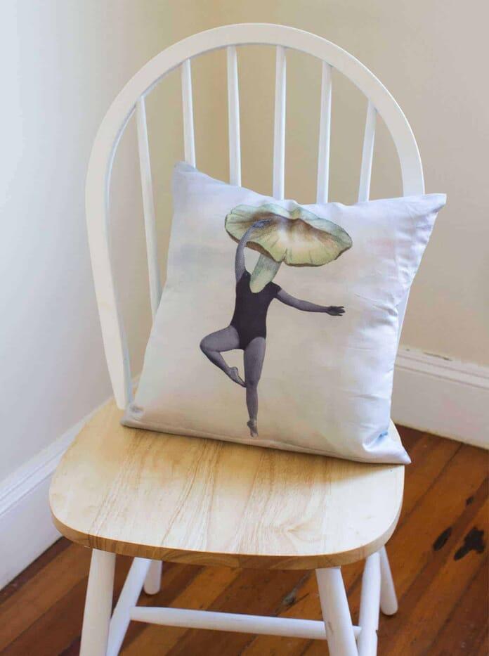 CanvasChamp Pillow Print Review Sample Pillow