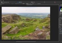 Affinity Photo review - details toolbar