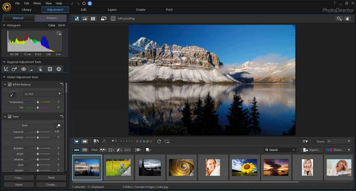 an alternative to adobe editing lightroom