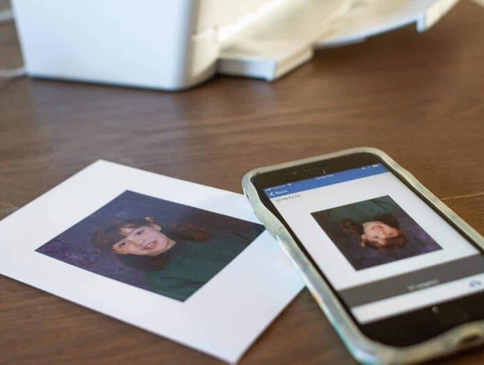 scanning photos