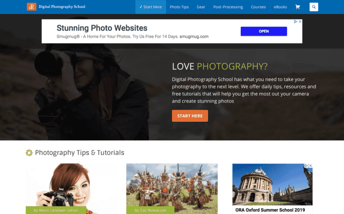 Digital Photography School (or DPS) - a great blog to learn photography