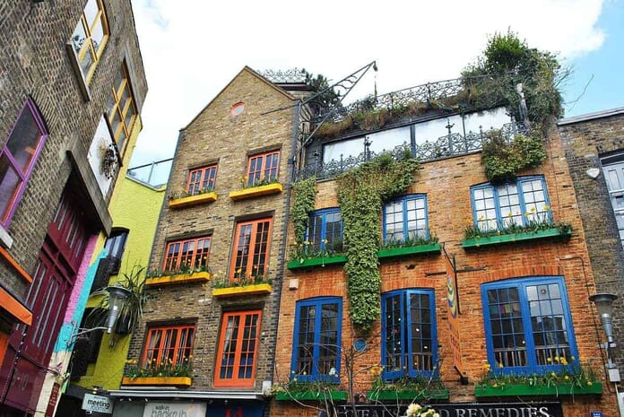 Best Places to Photograph in London - Neil's Yard