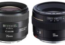 50mm vs 35mm lens