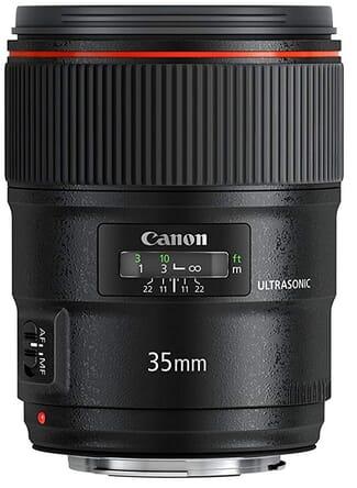 35mm lens capture scene