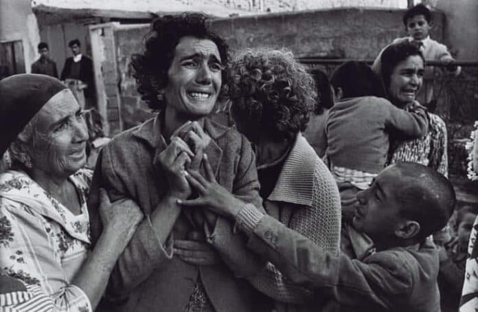 emotional portrait by Don McCullin