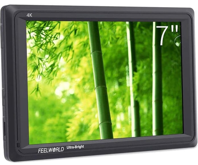 bright DSLR field monitor