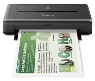 CANON PIXMA iP110 Wireless Mobile Printer best photo printer under $200