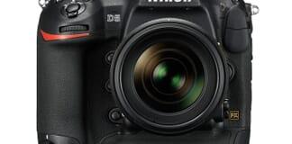 Nikon D5 front view