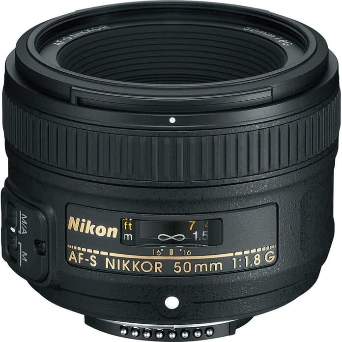 Nikon 50mm f/1.8G best budget portrait lens